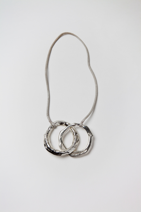 two ring necklace