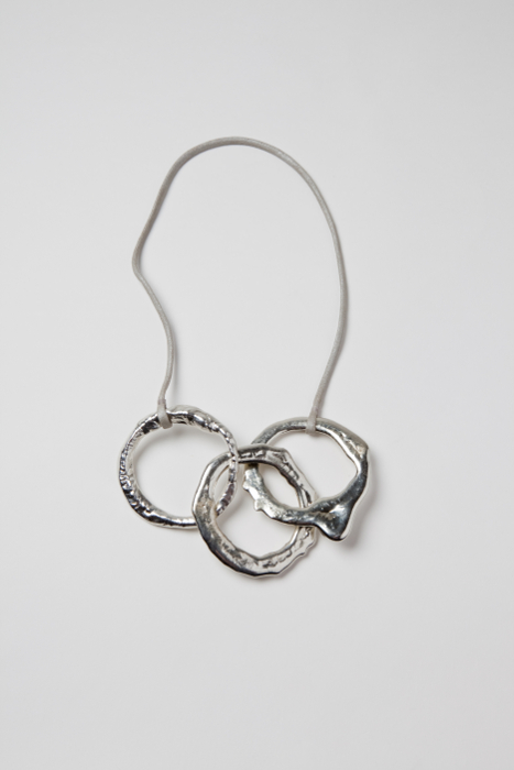 three ring necklace